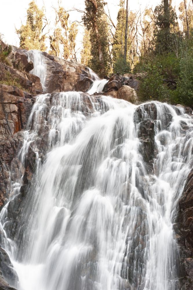 Stevenson Falls in the Yarra Valley near Melbourne