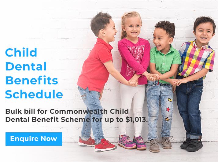 child dental benefits schedule promo banner glen waverley